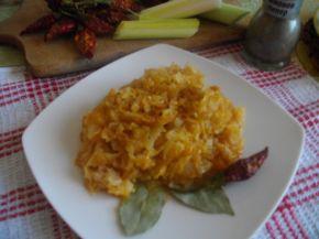 Снимка 1 от рецепта за Кисело зеле с ориз на фурна
