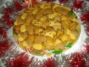 Снимка 1 от рецепта за Шарени коледни меденки