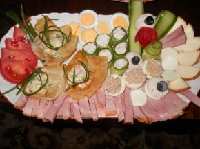 Снимка 1 от рецепта за Празнично Новогодишно плато