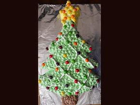 Снимка 1 от рецепта за Торта `Коледна елха`