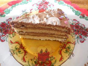 Снимка 1 от рецепта за Торта с мус кафе
