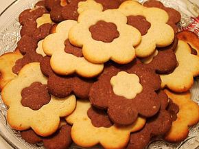 Снимка 1 от рецепта за Двуцветни сладки