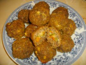 Снимка 1 от рецепта за Пълни кюфтета на фурна