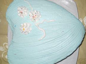 Снимка 1 от рецепта за Торта `Кралско сърце`