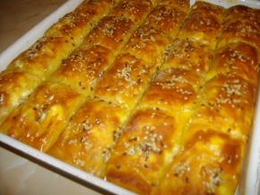 Снимка 1 от рецепта за Баница с царевично брашно и семена