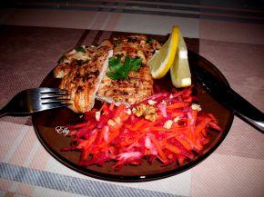 Снимка 1 от рецепта за Пилешко филе в марината от бяло вино