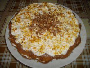 Снимка 1 от рецепта за Сладкиш с карамел и шоколад