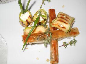 Снимка 1 от рецепта за Ароматни пръчици с масло, бяло вино и пресни  билки