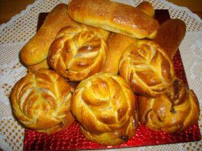 Снимка 1 от рецепта за Козуначени кифли от тефтера на баба
