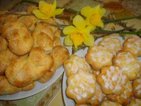 Снимка 1 от рецепта за Курабийки с лимонова глазура