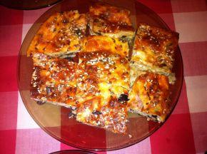 Снимка 1 от рецепта за Баница със сирене и маслини