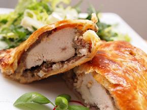 Снимка 1 от рецепта за Пиле `Уелингтън`