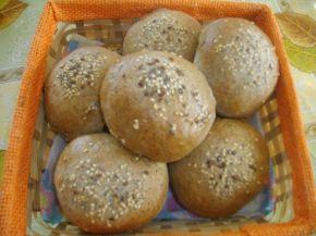 Снимка 1 от рецепта за Хлебчета с ленено брашно