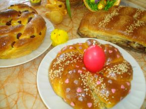 Снимка 1 от рецепта за Козунаци и рула от едно тесто