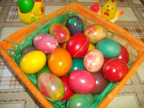 Снимка 1 от рецепта за Великденски яйца - II вариант