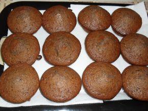 Снимка 1 от рецепта за Мъфини с какао и сладко