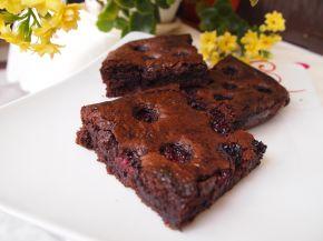 Снимка 1 от рецепта за Брауни с къпини