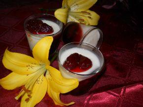 Снимка 1 от рецепта за Панакота с кисело мляко