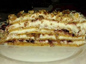 Снимка 1 от рецепта за Френска селска торта с къпини