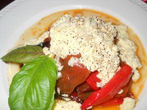 Снимка 1 от рецепта за Чушки със сметана и яйца