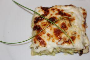 Снимка 1 от рецепта за Огретен от тиквички и картофи