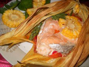 Снимка 1 от рецепта за Сьомга в мексикански стил