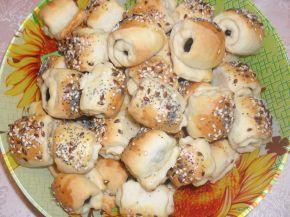 Снимка 1 от рецепта за Охлювчета с маслинка