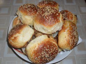 Снимка 1 от рецепта за Топки с шунка и кашкавал