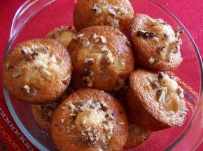 Снимка 1 от рецепта за Мъфини с локум и орехи