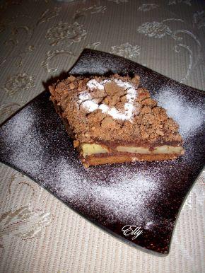 Снимка 1 от рецепта за Сладкиш с ябълки и какао