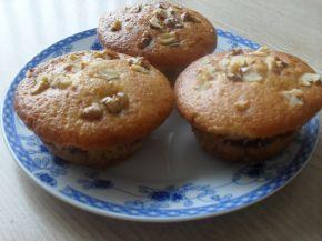 Снимка 1 от рецепта за Мъфини със сладко, двойно печени