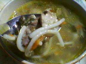 Снимка 1 от рецепта за Супа с пиле и спагети
