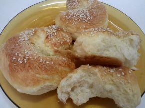 Снимка 1 от рецепта за Козуначени охлювчета