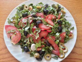 Снимка 1 от рецепта за Шарена салата с маруля