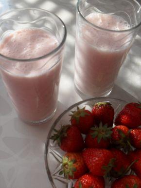 Снимка 1 от рецепта за Смути с ягоди