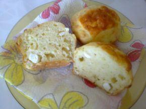 Снимка 1 от рецепта за Меки мъфини със сирене и кашкавал