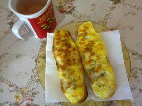 Снимка 1 от рецепта за Печени сандвичи от багети