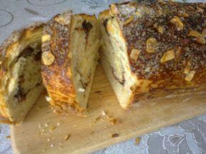 Снимка 1 от рецепта за Руло с орехи, сладко и лешници