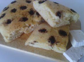 Снимка 1 от рецепта за Фокача с маслинова паста