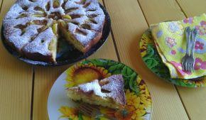 Снимка 1 от рецепта за Плодова пита със смокини