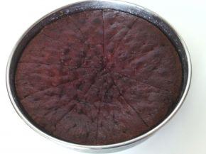 Снимка 1 от рецепта за Сиропиран сладкиш с орехи