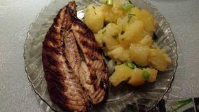 Снимка 1 от рецепта за Скумрия на скара