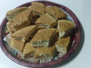 Снимка 1 от рецепта за Бял сладкиш със златни стафиди