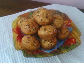 Снимка 1 от рецепта за Мъфини с магданоз, сушени домати и сирене