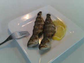Снимка 1 от рецепта за Сафрид с марината на скара