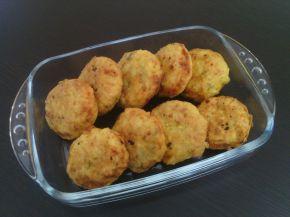Снимка 1 от рецепта за Кюфтета с картофи, сирене, копър и кисели моркови