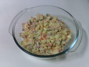 Снимка 1 от рецепта за Руска салата с туршия