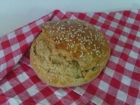 Снимка 1 от рецепта за Хляб с лимец и зехтин