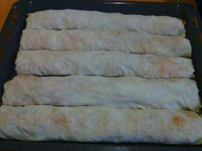 Снимка 1 от рецепта за Домашноточен тиквеник с орехи