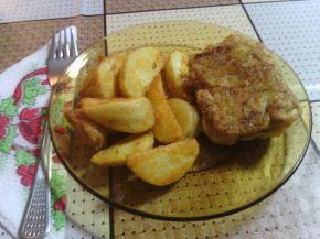 Снимка 1 от рецепта за Пане със сирене и кашкавал